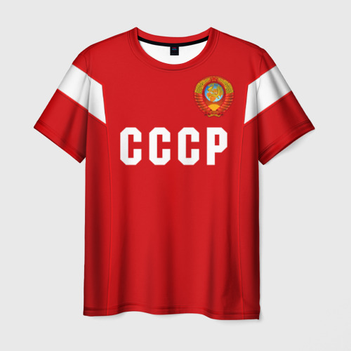 Мужская футболка 3D Сборная СССР 1988