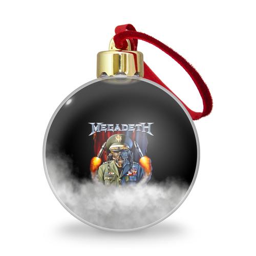 Ёлочный шар с блестками  Фото 01, Megadeth