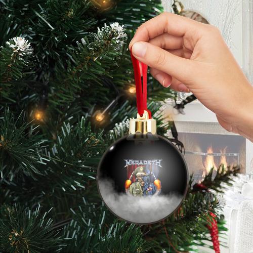 Ёлочный шар с блестками  Фото 04, Megadeth