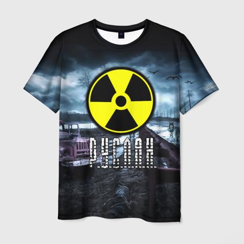 Мужская футболка 3D  Фото 01, S.T.A.L.K.E.R. - Р.У.С.Л.А.Н.