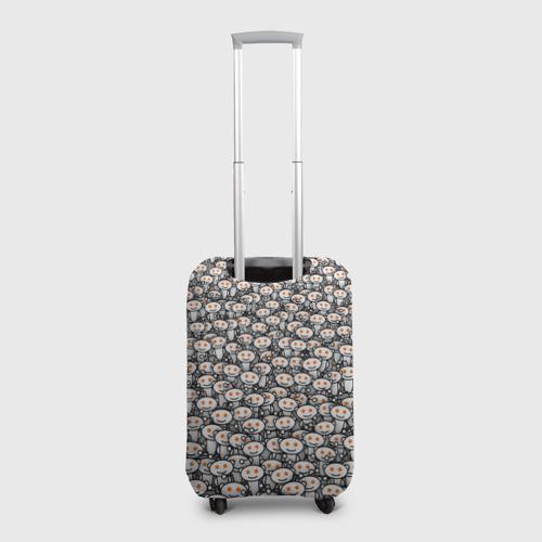 Чехол для чемодана 3D Reddit army Фото 01