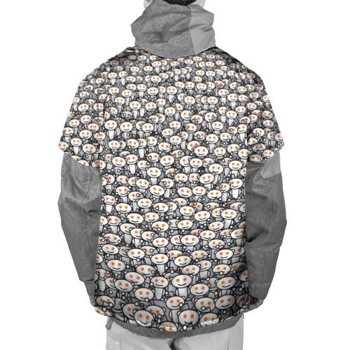 Накидка на куртку 3D Reddit army Фото 01