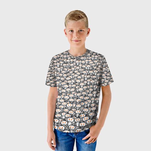 Детская футболка 3D Reddit army