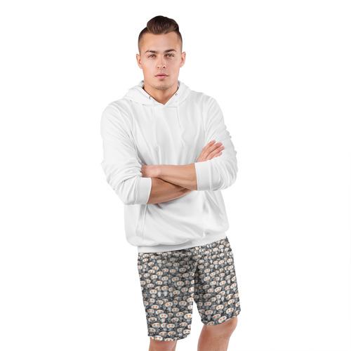 Мужские шорты спортивные Reddit army Фото 01