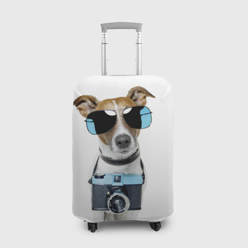 Чехол для чемодана 3D Собака Фото 01