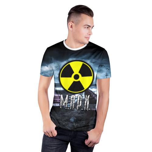 Мужская футболка 3D спортивная  Фото 03, S.T.A.L.K.E.R. - М.А.Р.К.