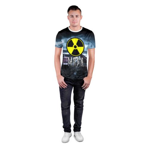 Мужская футболка 3D спортивная  Фото 04, S.T.A.L.K.E.R. - М.А.Р.К.