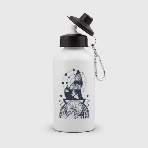 Бутылка спортивная Сибирский хаски