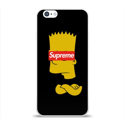 Чехол для Apple iPhone 6 силиконовый глянцевый Simpsons Supreme  Фото 01