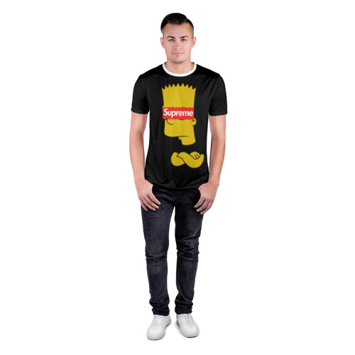 Мужская футболка 3D спортивная Simpsons Supreme