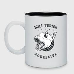 BULL TERIER agressive