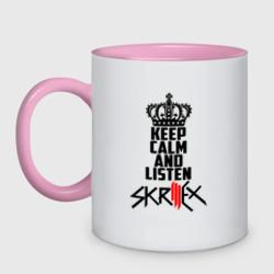 Keep calm and listen Skrillex
