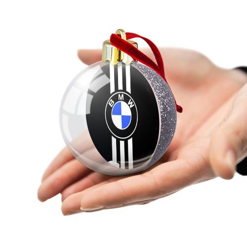 Ёлочный шар с блестками  Фото 03, BMW SPORTWEAR