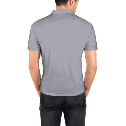 Мужская рубашка поло 3D  Фото 04, Бульдог в очках_2
