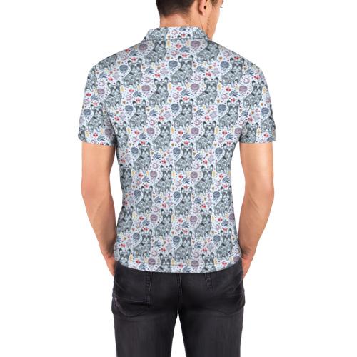 Мужская рубашка поло 3D  Фото 04, Бульдожки