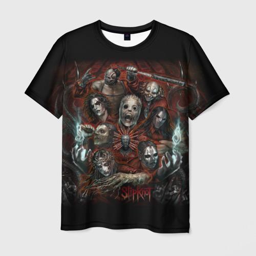 Мужская футболка 3D  Фото 01, Slipknot