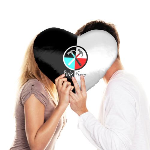 Подушка 3D сердце  Фото 03, Pink Floyd