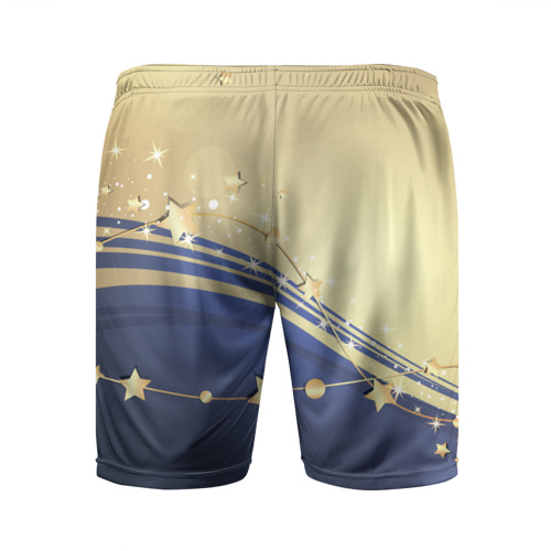 Мужские шорты 3D спортивные  Фото 02, Новогоднее чудо