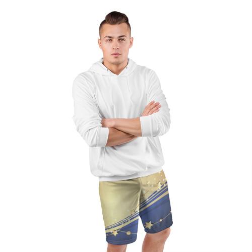 Мужские шорты 3D спортивные  Фото 05, Новогоднее чудо