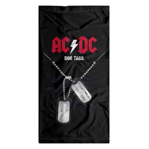 Бандана-труба 3D  Фото 07, AC/DC