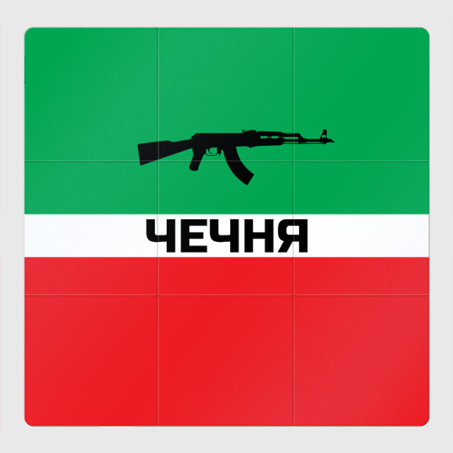 Магнитный плакат 3Х3 Чеченская Республика
