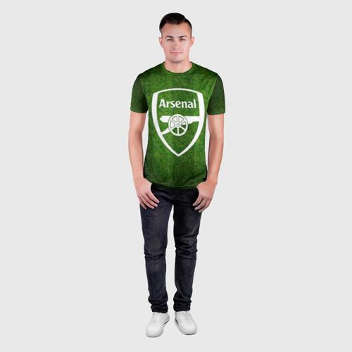 Мужская футболка 3D спортивная  Фото 04, Arsenal