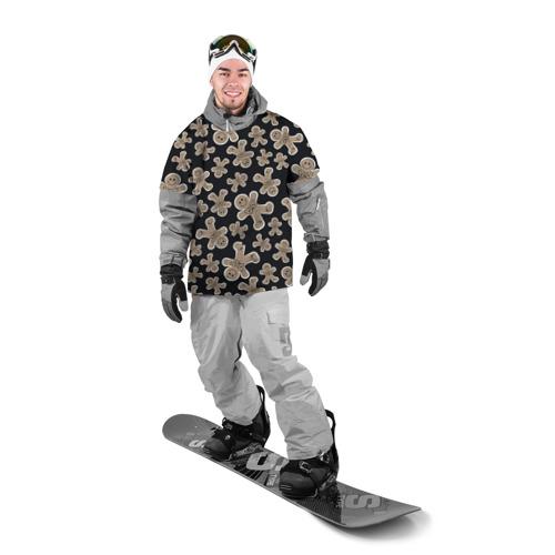 Накидка на куртку 3D  Фото 03, Зимние узоры