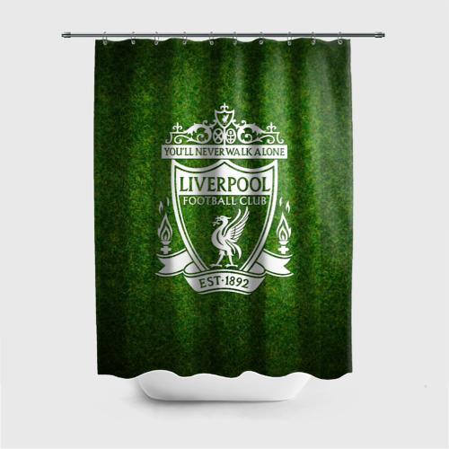 Штора 3D для ванной  Фото 01, Liverpool