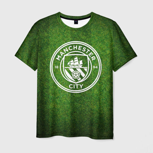 Мужская футболка 3D  Фото 03, Manchester City