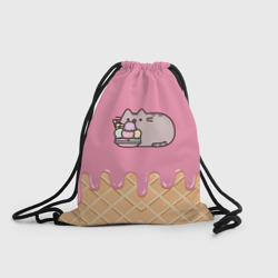 Рюкзак-мешок 3D Pusheen Ice Cream