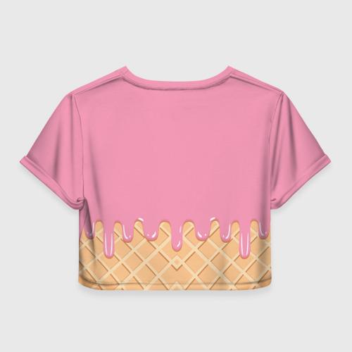 Женская футболка Cropp-top  Фото 02, Pusheen Ice Cream