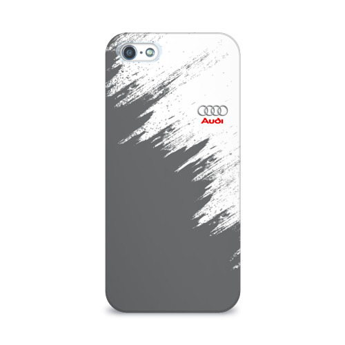 Чехол для Apple iPhone 5/5S 3D  Фото 01, Audi