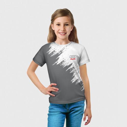 Детская футболка 3D  Фото 03, Audi