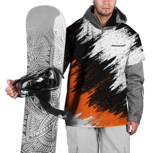 Накидка на куртку 3D McLaren
