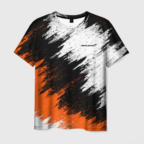 Мужская футболка 3D McLaren Фото 01