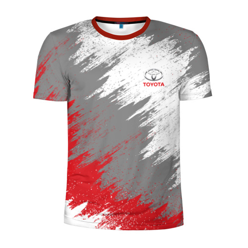 Мужская футболка 3D спортивная Toyota