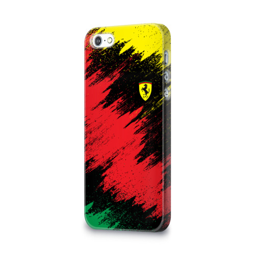 Чехол для Apple iPhone 5/5S 3D  Фото 03, Ferrari