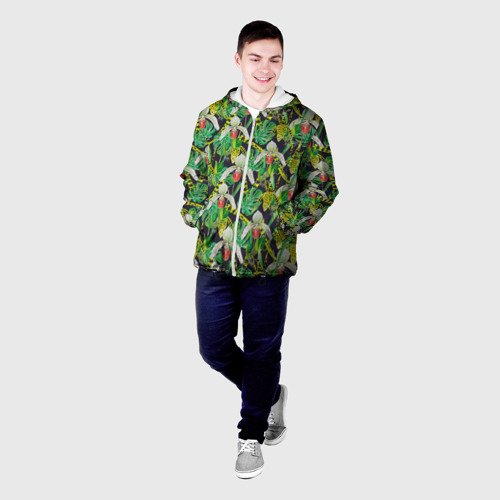 Мужская куртка 3D  Фото 03, Wild orchid