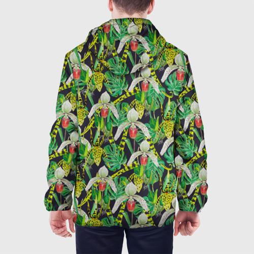 Мужская куртка 3D  Фото 05, Wild orchid