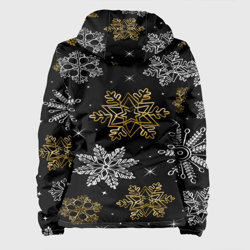 Женская куртка 3D  Фото 02, Снежинки