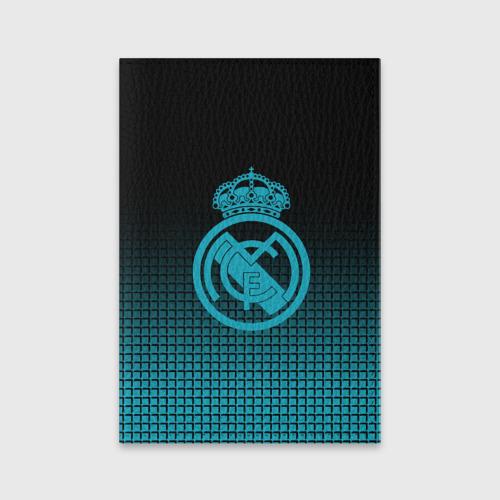Обложка для паспорта матовая кожа Real Madrid 2018 Original