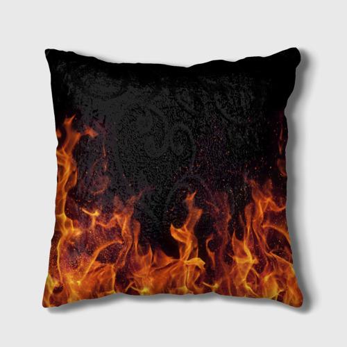 Подушка 3D  Фото 02, Валя огонь баба