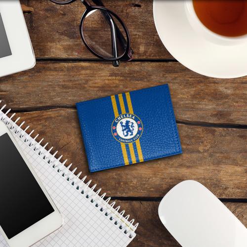 Обложка для студенческого билета  Фото 03, Chelsea  2018 Gold Line