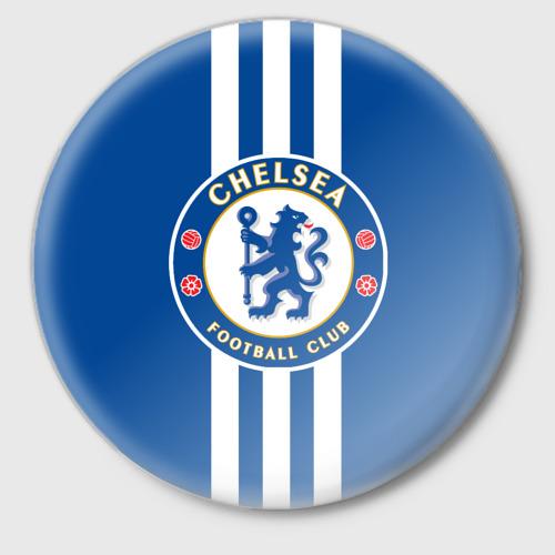 Значок Chelsea  2018 White Line Фото 01