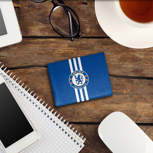 Обложка для студенческого билета  Фото 03, Chelsea  2018 White Line