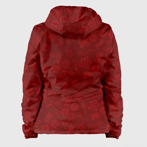 Женская куртка 3D Очень Странные дела  Бомбинг