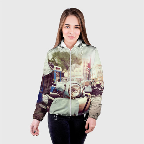Женская куртка 3D  Фото 03, Городской мопед