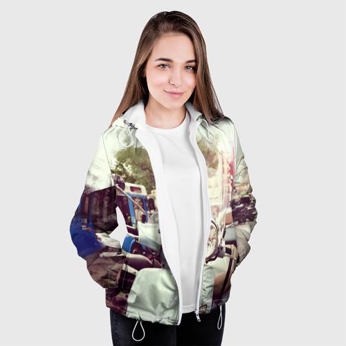 Женская куртка 3D  Фото 04, Городской мопед