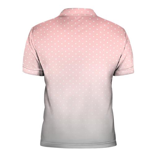 Мужская рубашка поло 3D  Фото 02, Pusheen Snow