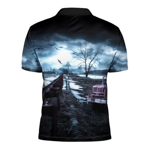 Мужская рубашка поло 3D  Фото 02, S.T.A.L.K.E.R. - Р.О.Б.Е.Р.Т.
